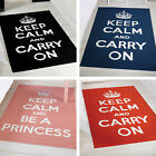Keep Calm & Carry On Flair Rugs Matrix Themes Modern Thick Soft 100x160 Mat Rug