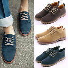 New Casual Formal Boys Mens Suede Desert Lace Up Sneakers Shoes