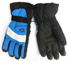 ADULTS MENS WOMENS THINSULATE PADDED WATER RESISTANT SKI GLOVES WITH PALM GRIP