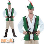 Robin Hood Mens Medieval Fancy Dress Adult Costume
