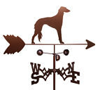 SWEN Products SALUKI DOG Steel Weathervane