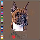I Love My Boxer T-Shirt S,M,L,XL,2X,3X,4X,5X 100% Cotton Dog Breed New Pure Bred