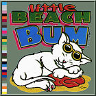 Adorable Little Beach Bum Cat T-Shirt S,M,L,XL,2X,3X,4X,5X White Kitten Kitty