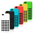 SLIM SILICONE SOFT CASE COVER FOR iPhone 5C 6 COLORS HOT