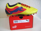 Puma football shoes, PowerCat 1 Graphic FG - Yellow - new with box - 102781 01