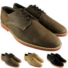 MENS FRANK WRIGHT LEATHER DODD III SLIM SOLE THIN LACE DERBY SHOES UK SIZES 8-12
