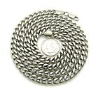 NEW CELEBRITY STYLE 8mm STAINLESS STEEL CUBAN LINK CHAIN HIP HOP NECKLACE -XC427