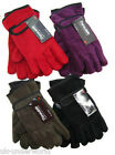 ADULTS LADIES WOMENS WINTER WARM THERMAL THINSULATE LINED POLAR FLEECE GLOVES
