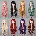 """32"""" 80cm Heat Resistant Spiral Curly Cosplay Wig 8 Colors"""