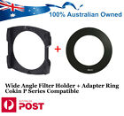 49mm-82mm 52 58 67 72 77 Lens Adapter Ring for Cokin P series Filter System