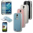 Protector+For Samsung Galaxy S4 i9500 Leather TPU Gel Premium Matte Snap On Case