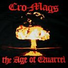 NWOT Cro Mags The Age Of Quarrel T-SHIRT in S M L XL NYHC Hardcore Band Album