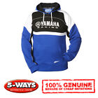 Genuine Yamaha 2014 Paddock Hoody Hoodie Blue with Logo Various Sizes New