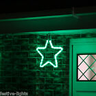 LED STAR ROPE LIGHT OUTDOOR GARDEN CONNECTABLE CHRISTMAS SILHOUETTE DECORATION