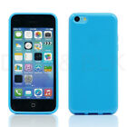 Colorful Clear TPU Transparent Rubber Jelly Skin Case Cover For Apple iPhone 5C