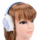 Women Warm Earmuff Winter Ear Warmer Snowflake Earlap Warmer