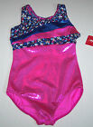 Nwt New Capezio Leotard Leo Hologram Holo Tank Stars Pink Racer Nice Cute Girl