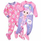 Lalaloopsy 2 PC Footed Blanket Sleeper Pajama Sets Toddler Girl Size 2T 3T