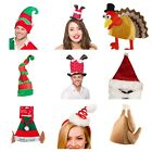 CHRISTMAS TREE HAT BAUBLES NOVELTY XMAS FUNNY JOKE FANCY DRESS SECRET SANTA GIFT