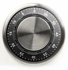 Kikkerland Safe Kitchen 59 Minute Wind Up Timer Choice Of Black Or Red Kt17