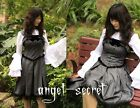 j50, gothic lolita corset jumper grey dress victorian