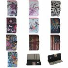 STYLIS VINTAGE RETRO UNIQUE FLIP STAND WALLET LEATHER COVER CASE FOR HTC ONE M7