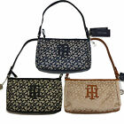 Tommy Hilfiger Xbody Purse Womens Handbag Th Jacquard Shoulder Bag Nwt V286