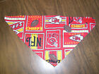 KC Chiefs Velcro Dog Cat Bandana NEW