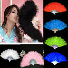 Phantom Party Supplies Fluffy Feather Hand Fan Fancy Elegant Props New