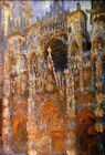 WESTERN PORTAL OF ROUEN CATHEDRAL HARMONY IN BLUE 1894 BY CLAUDE MONET REPRO