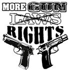 "Southern American 2nd Amendment Gun Rights  "" MORE GUN RIGHTS "" T SHIRT"