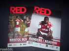 2013/14 BRISTOL CITY HOME PROGRAMMES CHOOSE FROM