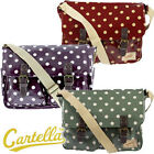 CARTELLA Spotted Satchel Saddle Bag