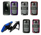 For ZTE Majesty Z796c Cover Rhino Kickstand Holster Combo Belt Clip Case