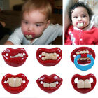 Funny Style Billy BOB Pacifiers Dummy Baby Teether Pacy Orthodontic Nipples Cute
