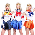 Sailormoon Sailor Moon Venus Uranus Costume Uniform Complete Outfit