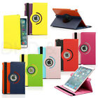 360 Rotating PU Leather Case Smart Skin Cover Stand for Apple iPad Air 5 5th Gen