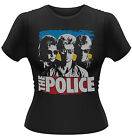 THE POLICE STING Greatest Hits GIRLIE T-SHIRT NEU