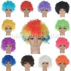 13 Colours Curly Clown Wig Afro Fancy Dress Disco Party Costume Men Ladies Hair