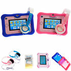 Silicone Gel Skin Case with Headphones + Screen Protectors for vTech InnoTab 3S