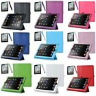 New Magnetic Leather Case Smart Cover Sleep/Wake For Apple iPad 4 New iPad 3 2