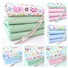 FQ BUNDLE - ELLIE ELEPHANT - nursery 100% COTTON FABRIC boy girl spots gingham