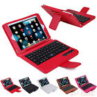 Removeable Bluetooth Keyboard Case PU Leather Cover Stand iPad Mini 1 2 3 Retina