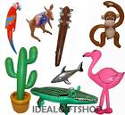 INFLATABLES PARTY ACCESSORY DECORATION HEN STAG BLOW UP NOVELTY TOYS INFLATE