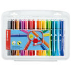 Stabilo Cappi Colouring Pens with Cap Ring Wallets of 12, 18 & 24 Available