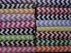 Chevron Fabric 1 / 2 BTY UPick color quilting cotton By the yard