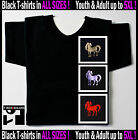 Chinese YEAR OF THE HORSE  2014 SHIRTS Horoscope Zodiac Sign Youth -5XL