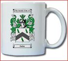 PEEBLES COAT OF ARMS COFFEE MUG