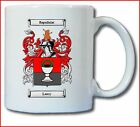 LEWRY COAT OF ARMS COFFEE MUG