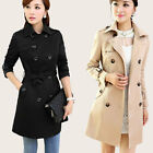 2014 spring new women's trench coat double-breasted belt overcoat fashion S-XL